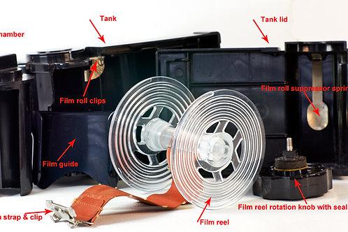 Agfa Rondinax 60, 120 film daylight developing tank