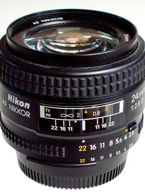 Nikkor 24mm F2.8 AFD prime lens