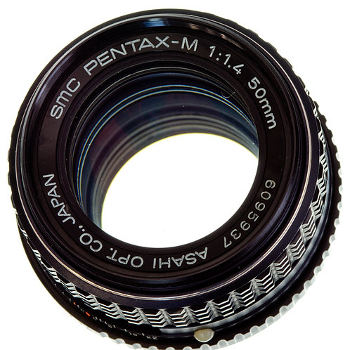 Pentax-M SMC 50mm F1.4 MF lens S#6095937