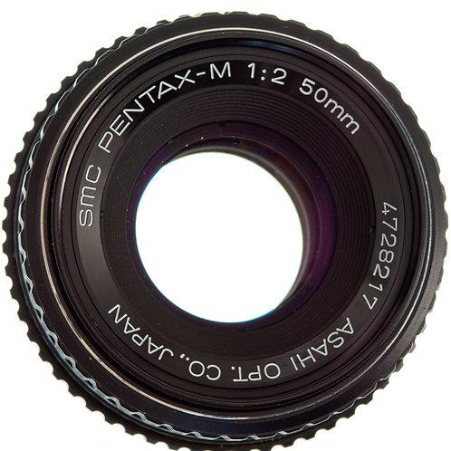 Pentax-M SMC 50mm F2 MF lens S#4728217