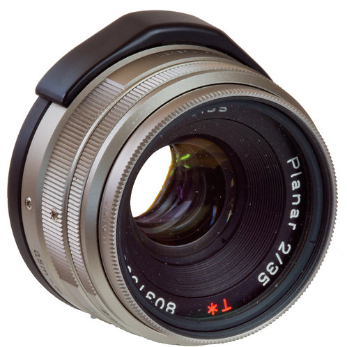 Carl Zeiss Planar 35mm F2 prime lens for Contax G system