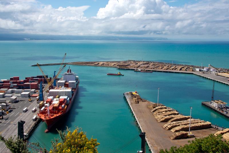Napier Port at Ahuriri
