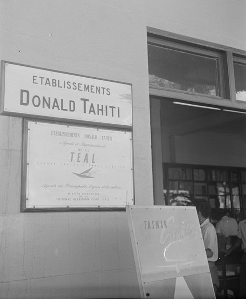 Ets Donald Tahiti Main Office