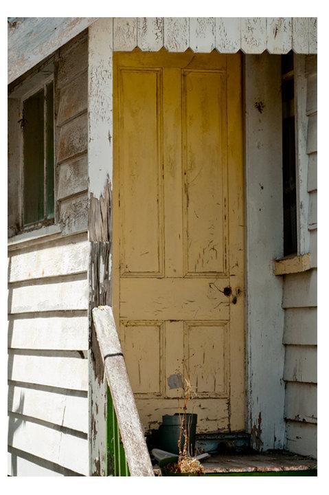 Ponsonby Villa Door