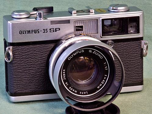 Olympus SP Rangefinder front view