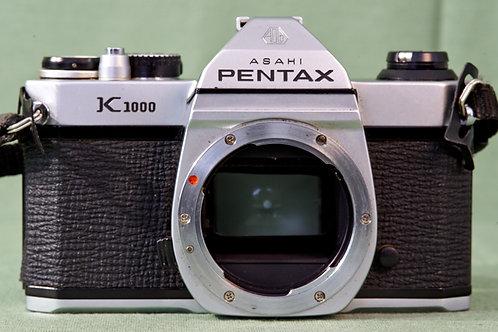 Asahi Pentax K1000 body S#8186117