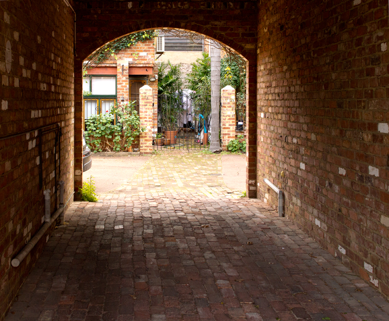 A private entrance in Fremantle