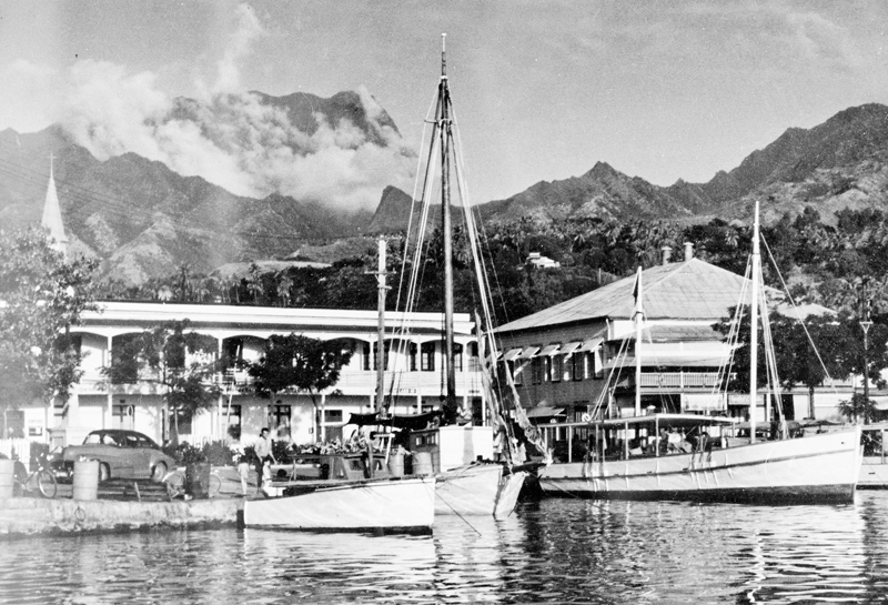 Etablissments Donald, Papeete 1950s
