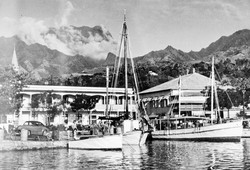 Etablissments Donald, Papeete 1950s