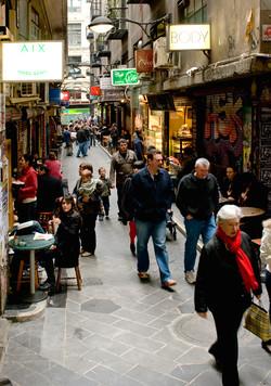 Degraves Lane Melbourne