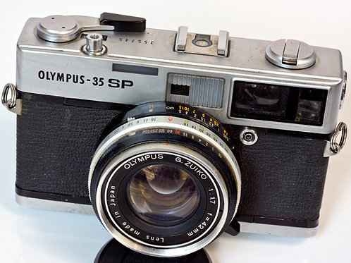 Olympus 35SP front view
