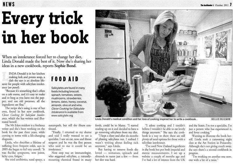 NZ Herald Aucklander article about Linda Donald