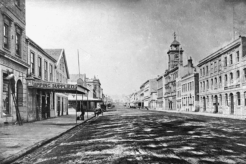 Queen St 1870