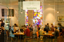 Book Plate cafe Canberra