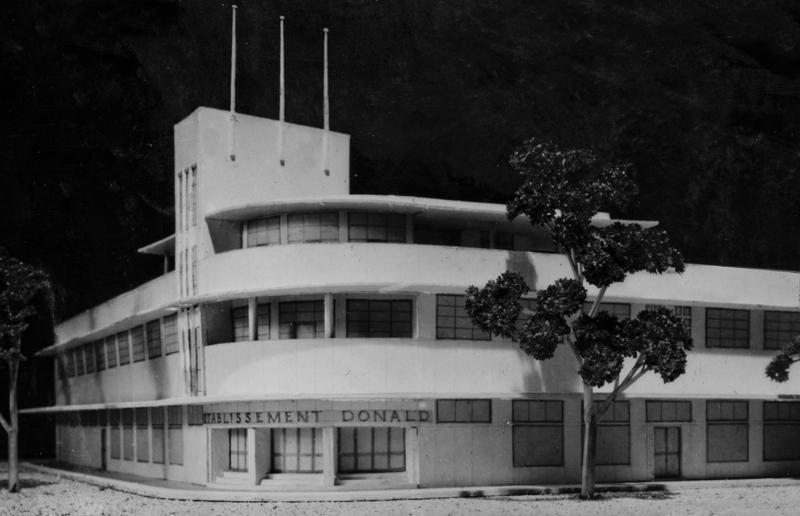 Ets Donald newTahiti Building