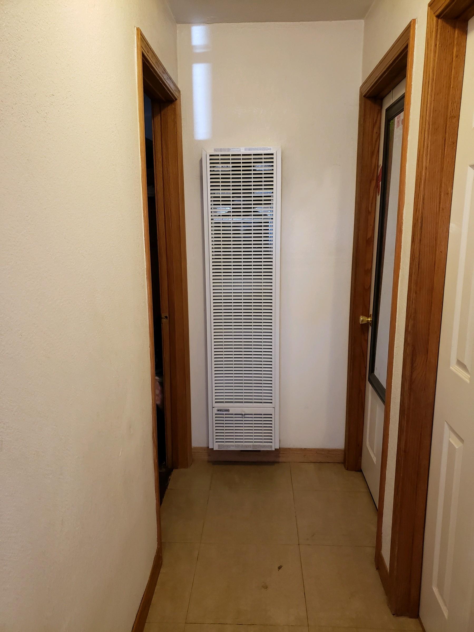 Wall heater repair / install