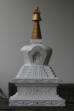 tibetska stupa sestoupeni 6
