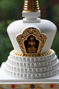 tibetska lotosova stupa 4