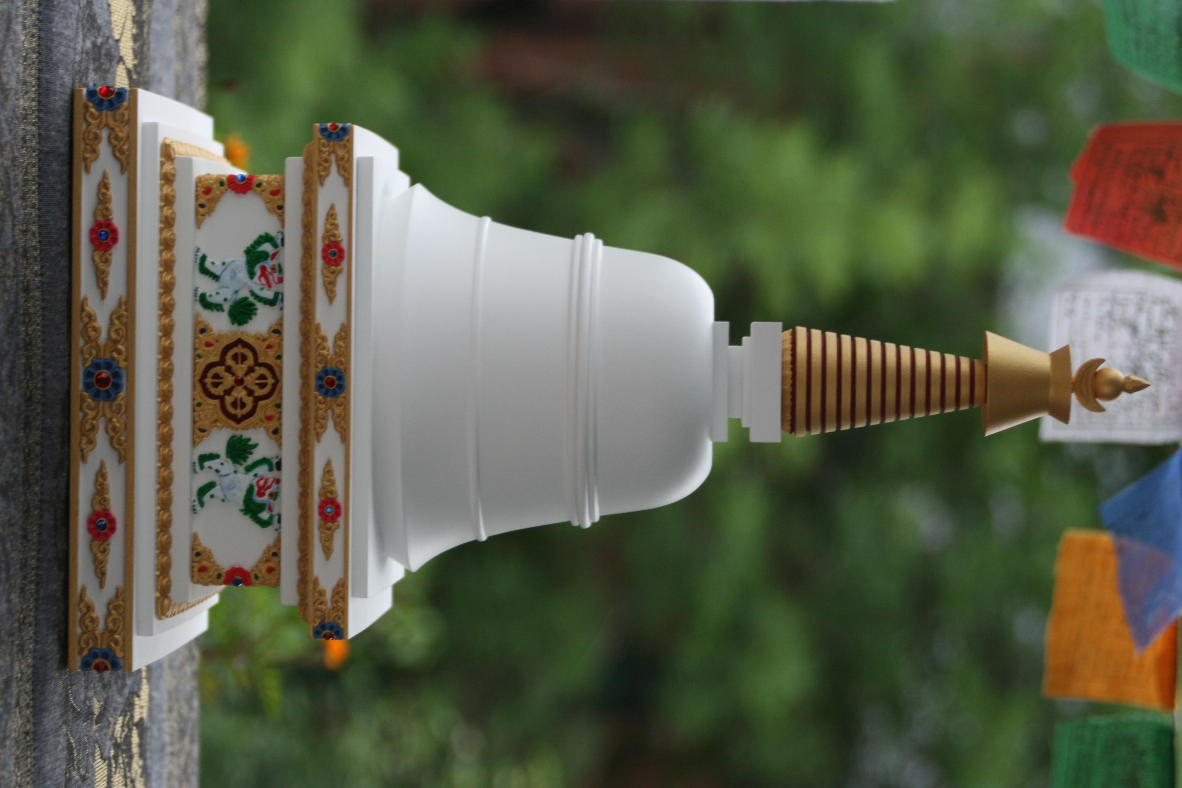 tibetska stupa parinirvany 1