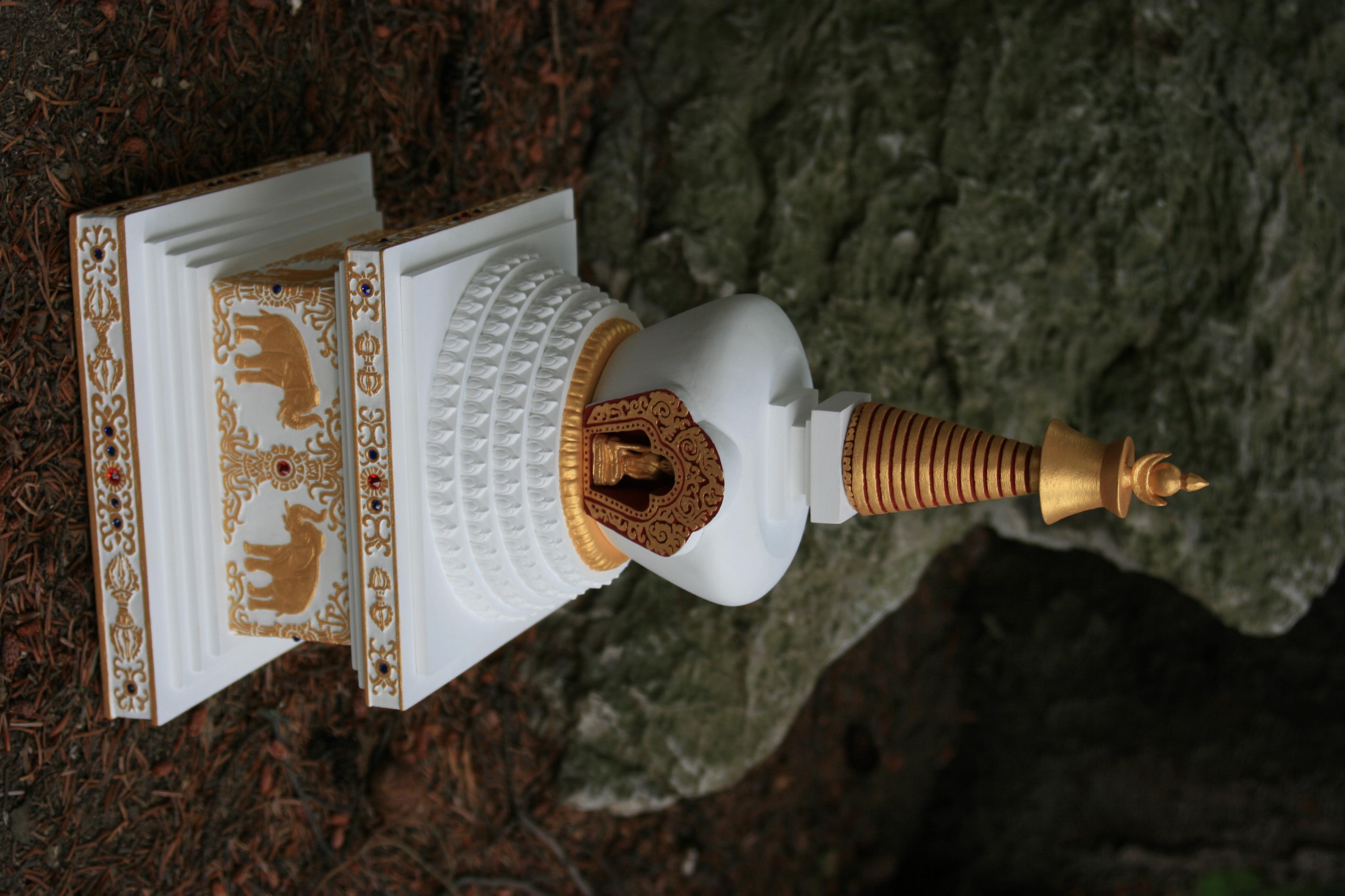 lotosova stupa 6
