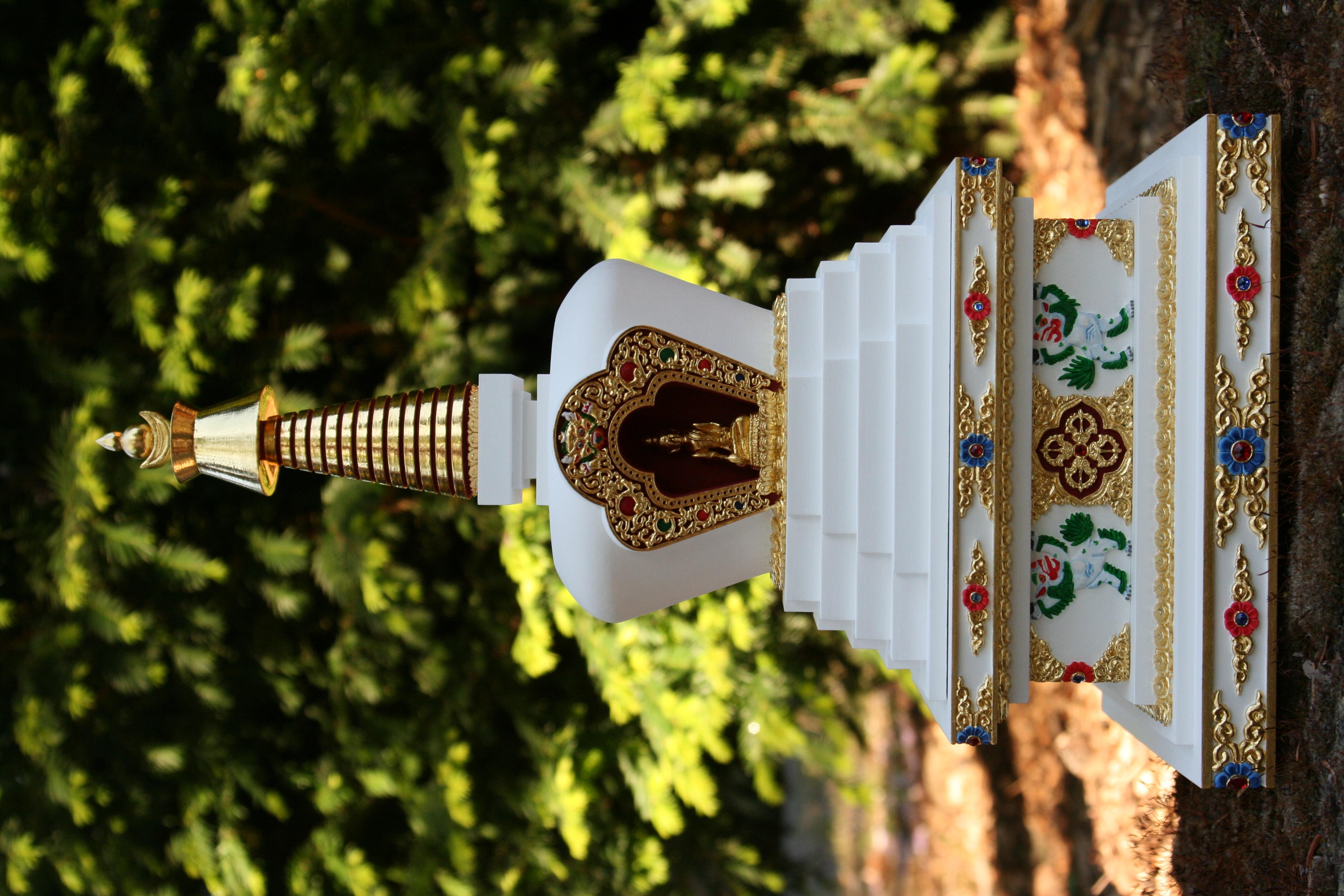 tibetska stupa zazraku 4
