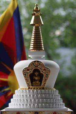 tibetska lotosova stupa 6
