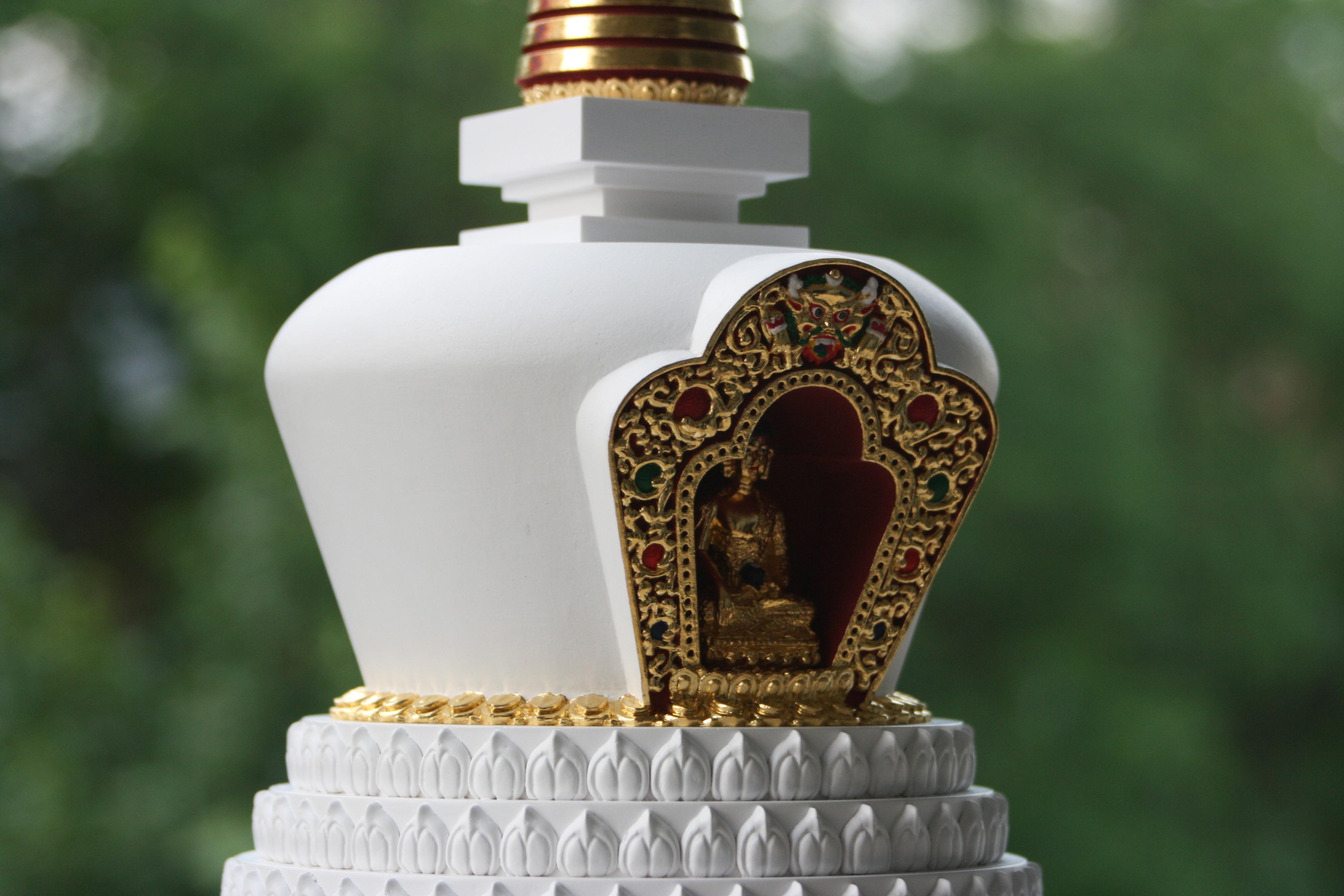 tibetska lotosova stupa 2