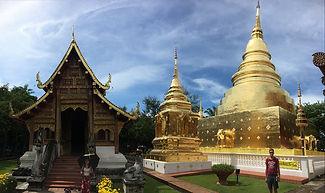 stupy thajsko