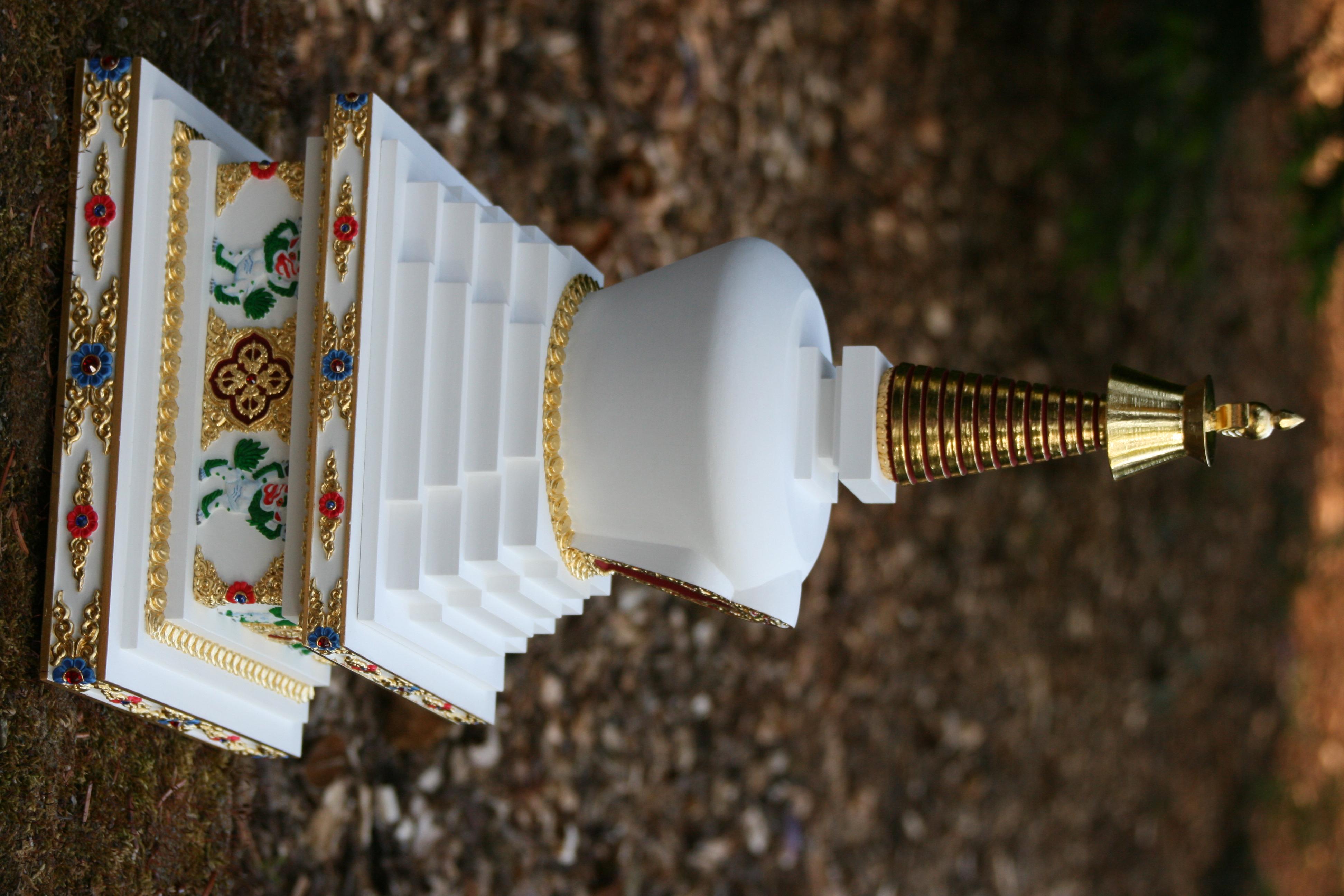 tibetska stupa zazraku 9