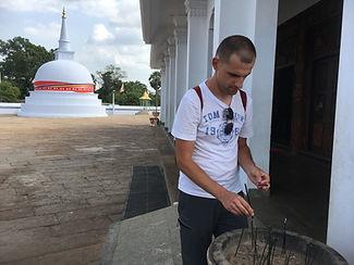 Sri Lanka stupa 1