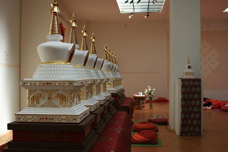 buddhisticke stupy