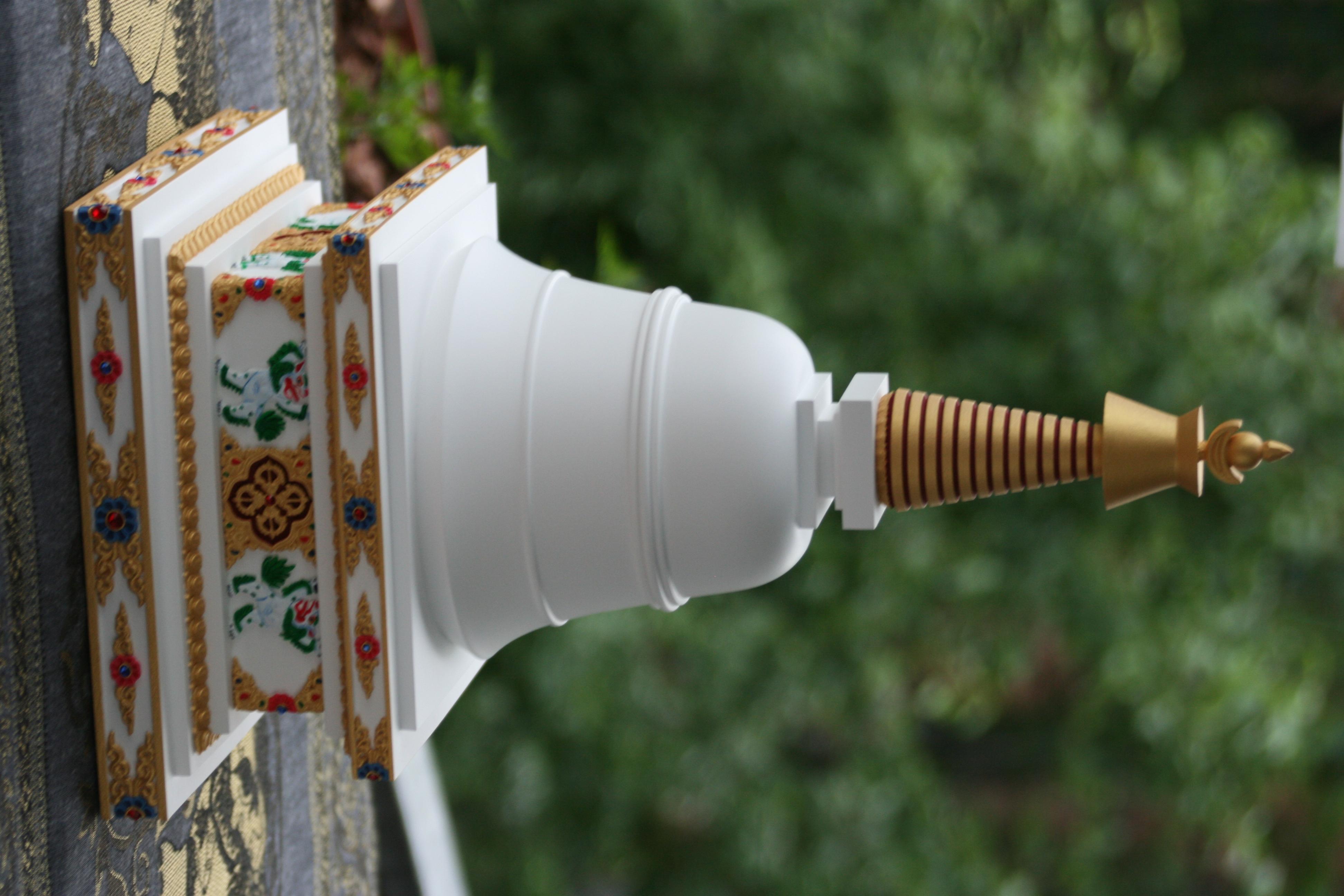 tibetska stupa parinirvany 6