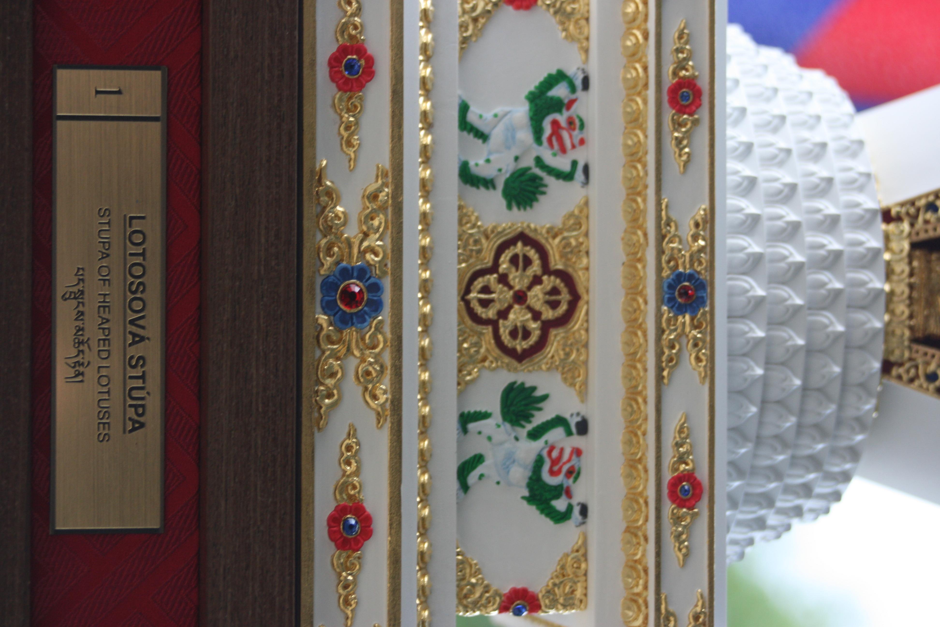 tibetska lotosova stupa 3