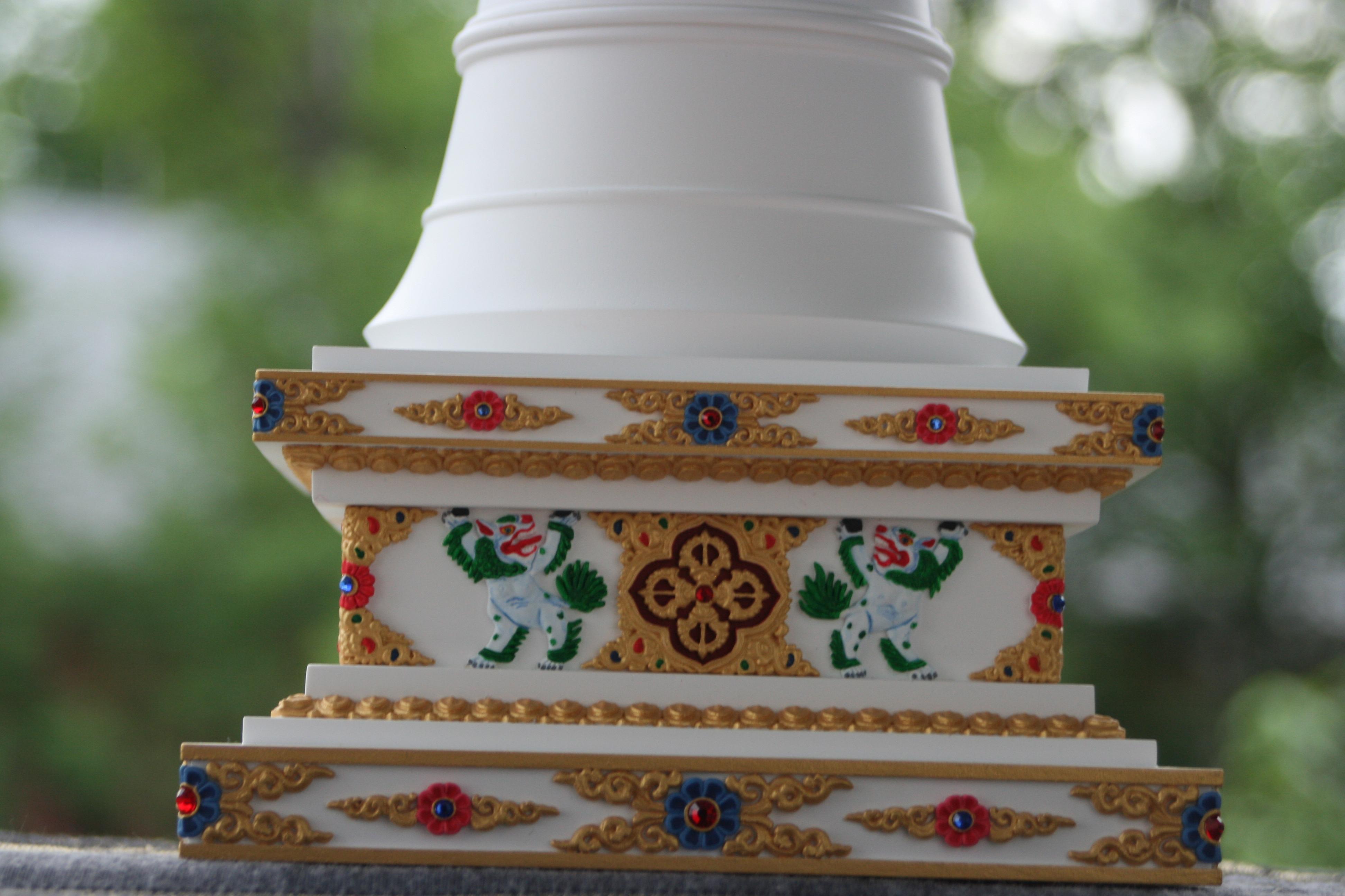 tibetska stupa parinirvany 8