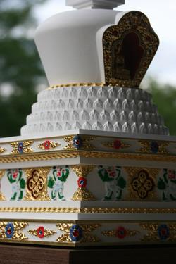 tibetska lotosova stupa 10