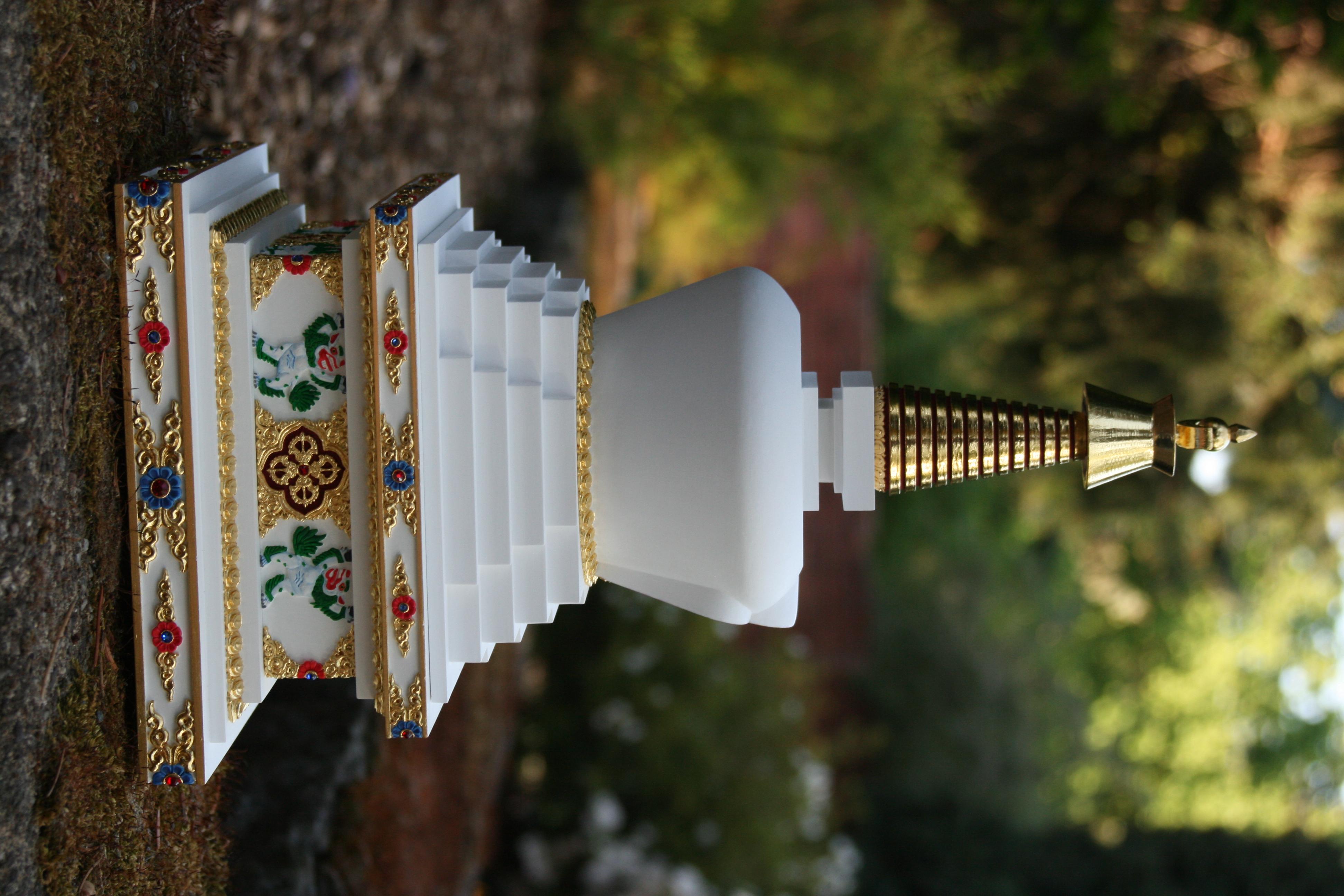 tibetska stupa zazraku 6