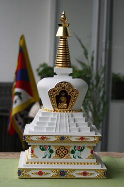 tibetska stupa sestoupeni 1