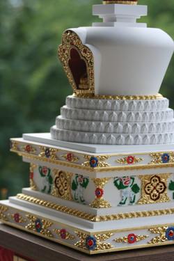 tibetska lotosova stupa 5