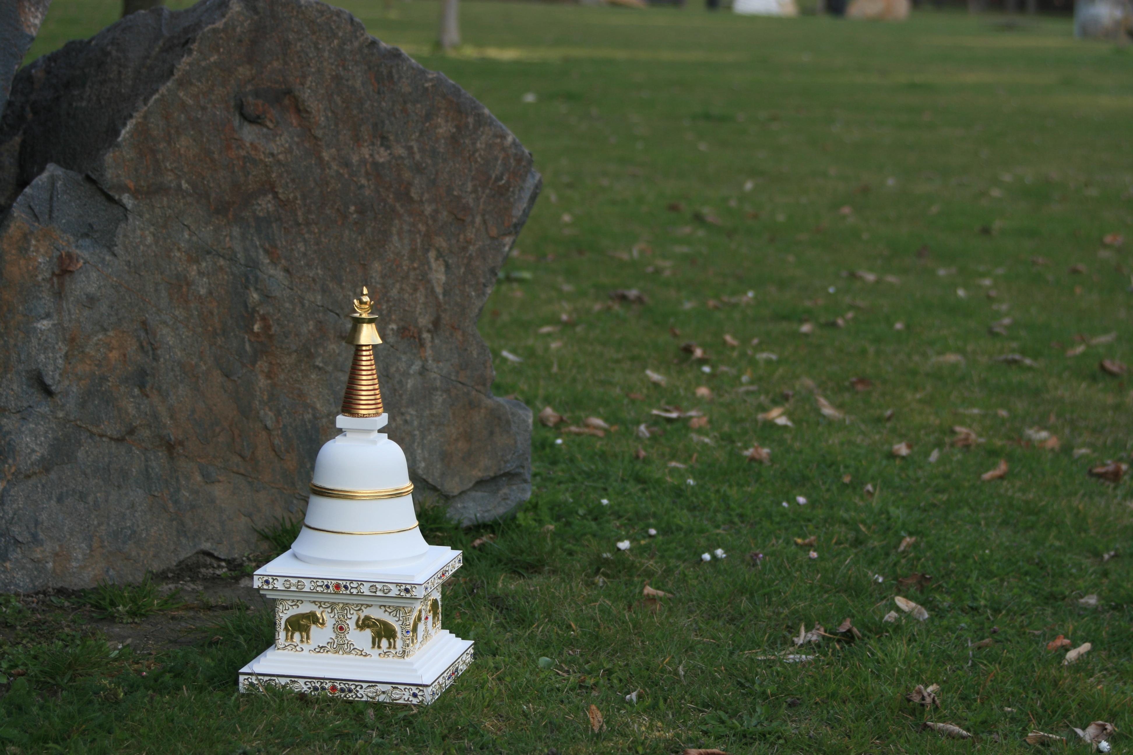 stupa parinirvany 7