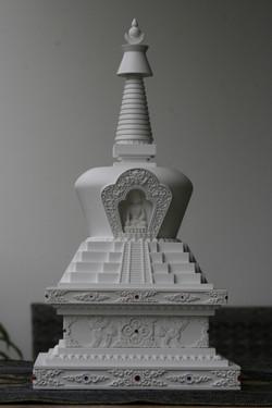 tibetska stupa sestoupeni 7