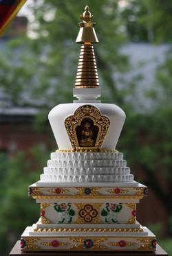 tibetska lotosova stupa 1