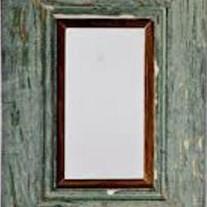 Rustic Teal Frame