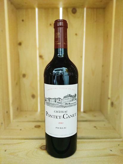 Château Pontet-Canet - Pauillac Grand Cru Classé - 2012