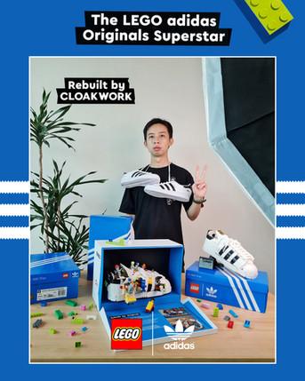 LEGO x Cloakwork - Adidas Artist Collaboration