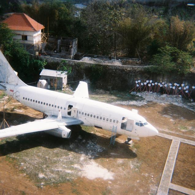 Abandoned aircraft