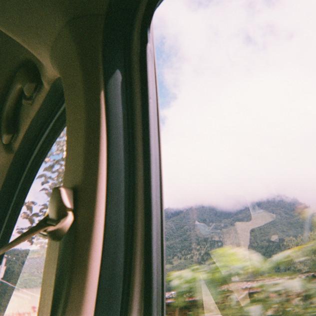En route again