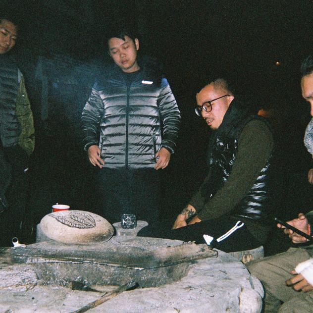 Freezing night