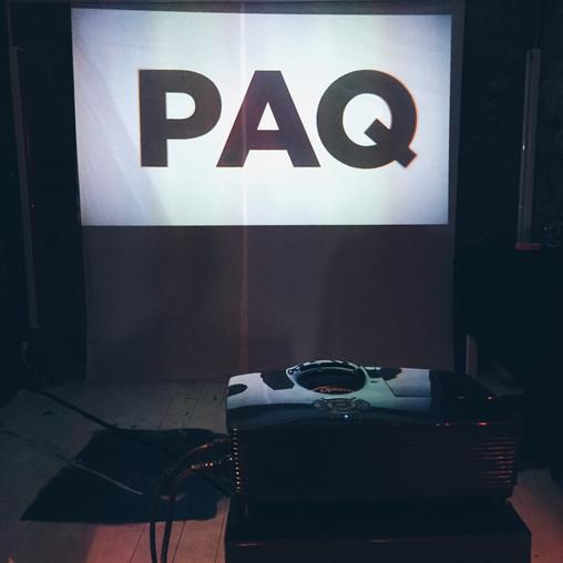 PAQ Pop up