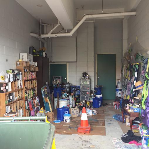 Gus's Garage/Art Studio