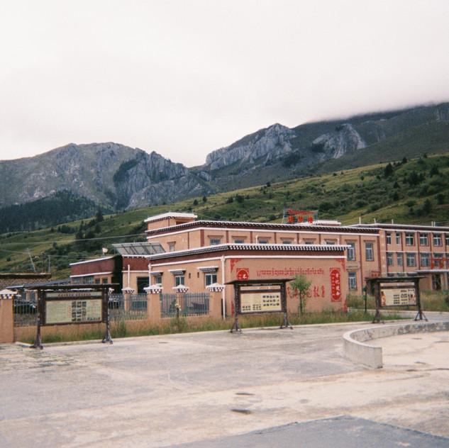 School located at suburb
